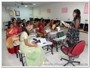 Phonics batch held at Lexican Global School - 2013