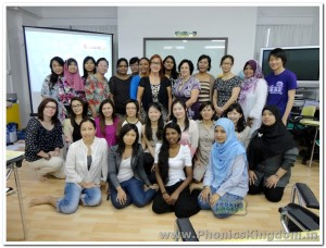 Jolly Phonics Workshops with Victoria Carlton and other world wide Trainers in Singapore 2013